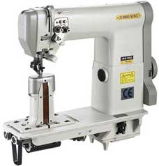 Post bed Double Needle Sewing Machine